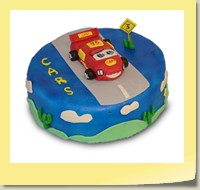 Kindertorte: CARS-Fan
